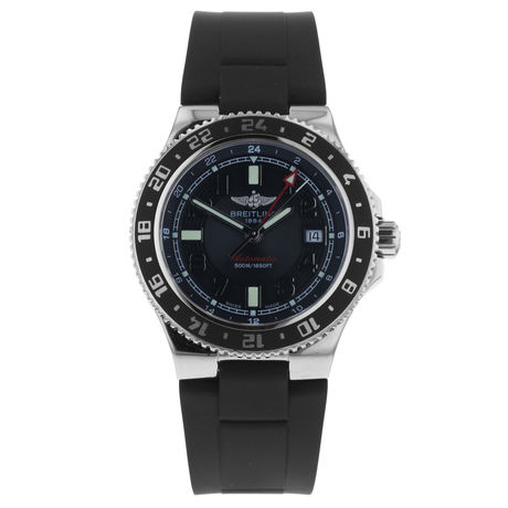Pre-Owned Breitling Superocean GMT Mens Watch