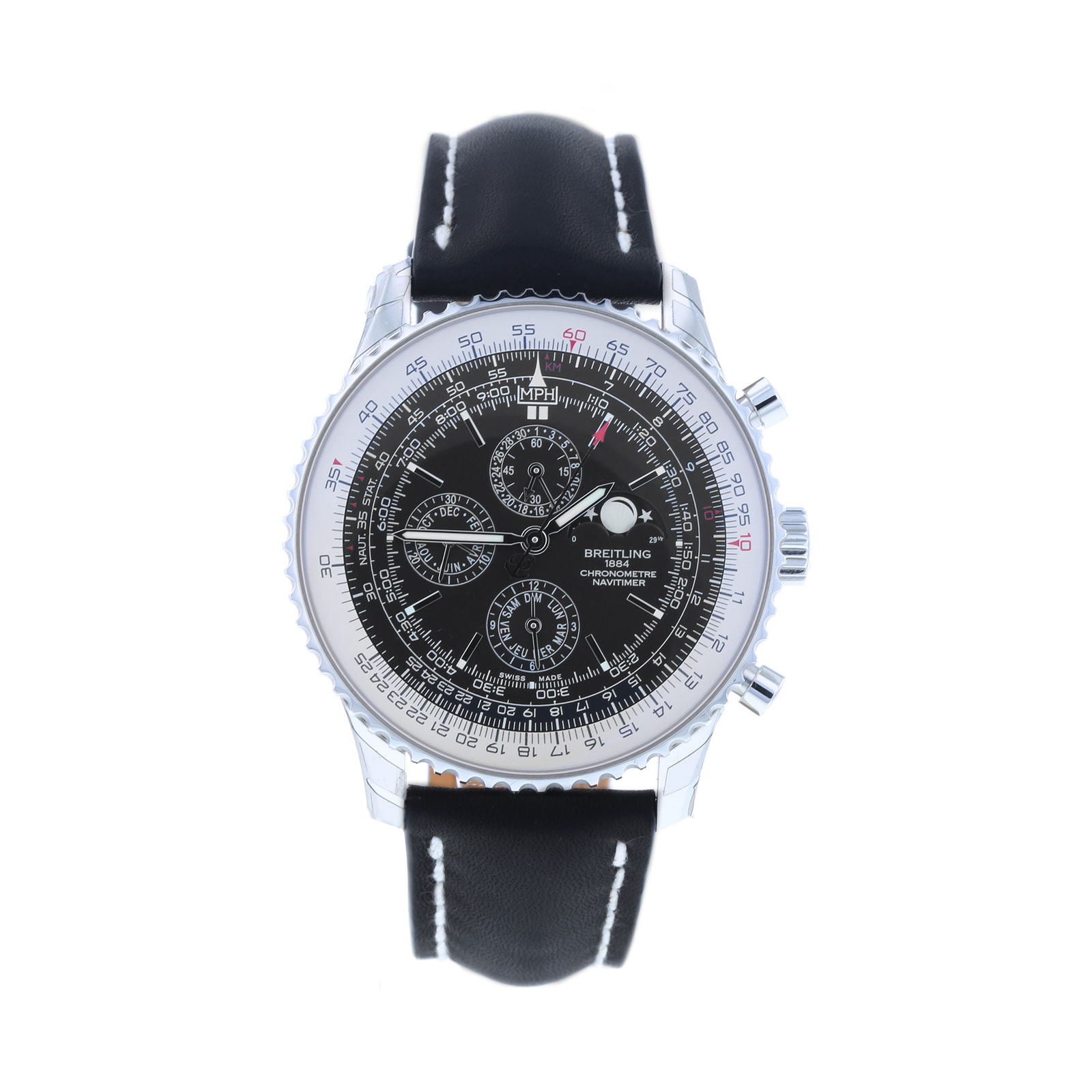 Pre-Owned Breitling Navitimer Moon-Phase