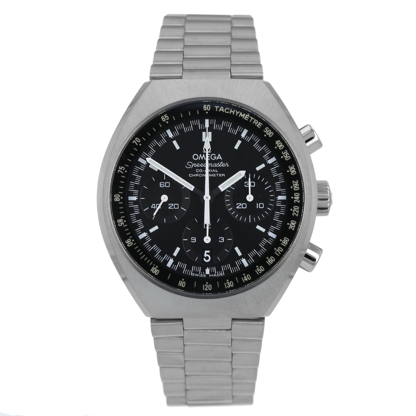Pre-Owned Omega Speedmaster Mark II Co-Axial Chronograph ...