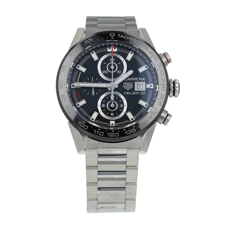 Pre-Owned TAG Heuer Carrera Mens Watch CAR201Z