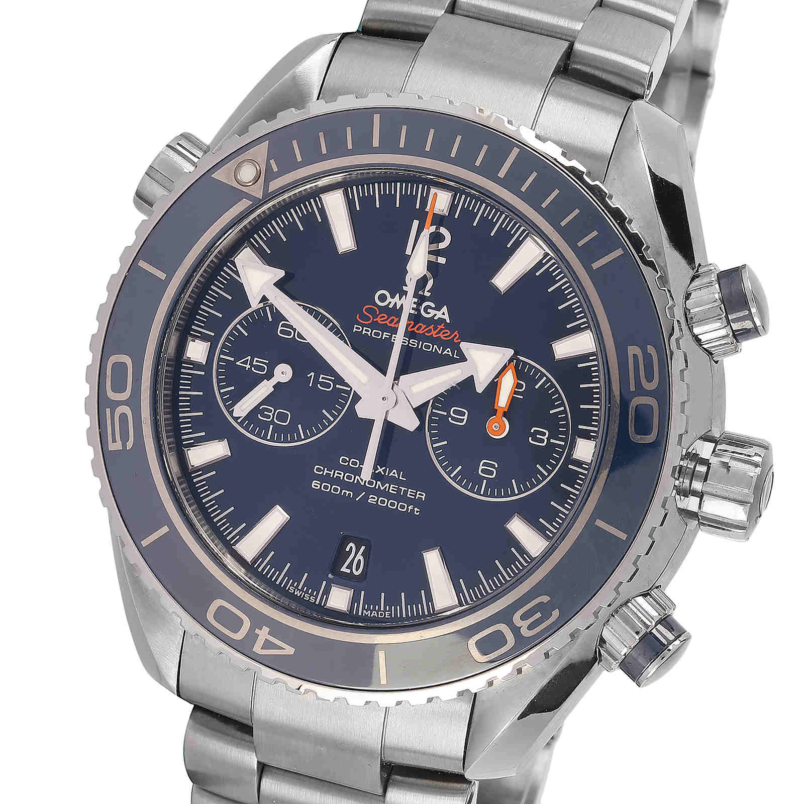 Pre-Owned Omega Planet Ocean Mens Watch, Circa 2011