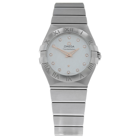 Pre-Owned Omega Constellation Ladies Watch 123.10.27.60.52.001