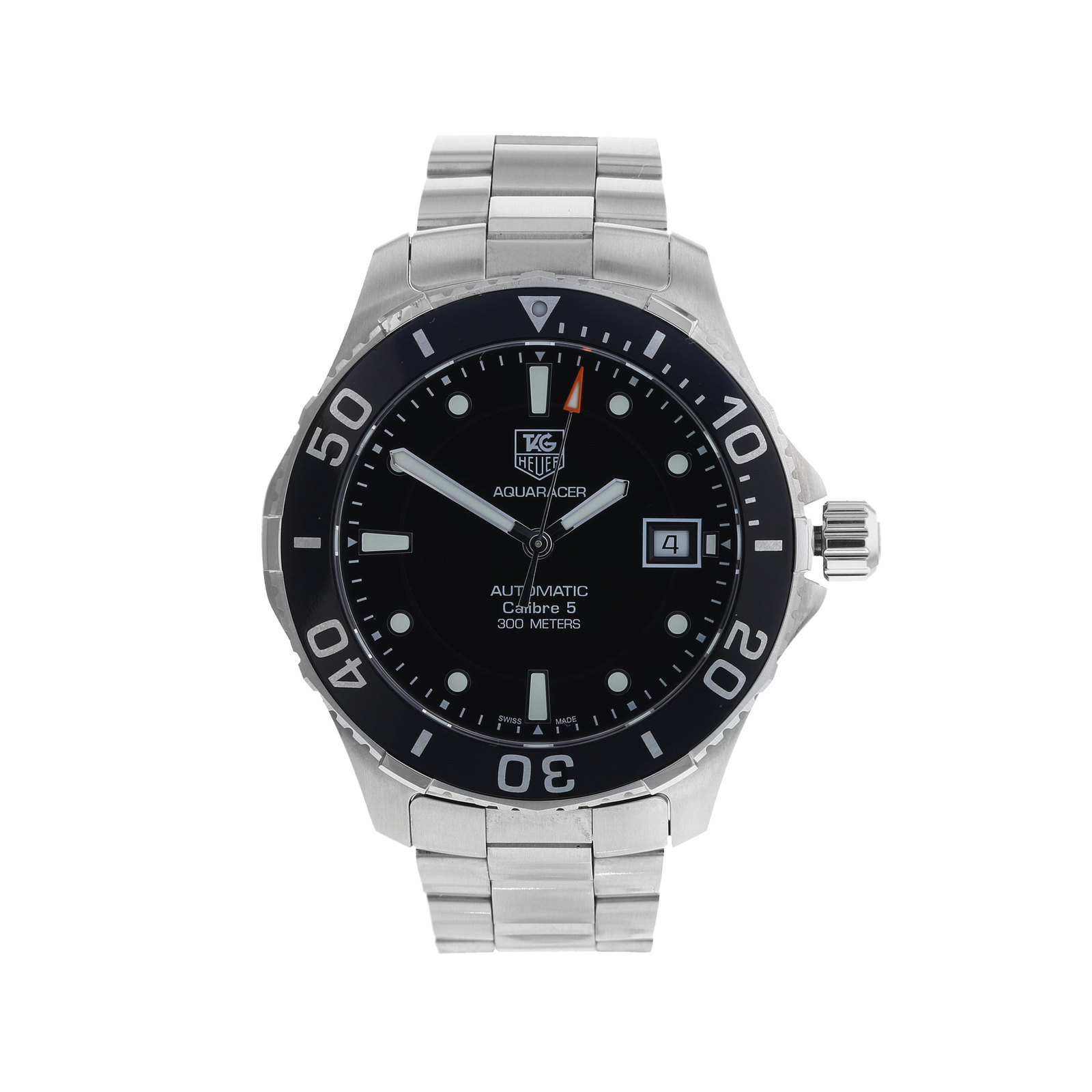 Pre-Owned Tag Heuer Aquaracer Mens Watch, Circa 2010