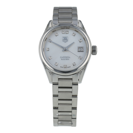 Pre-Owned TAG Heuer Carrera Calibre 9 Ladies Watch WAR2414-0