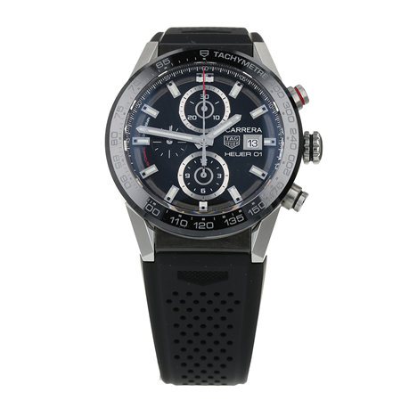 Pre-Owned TAG Heuer Carrera Calibre Heuer 01 Mens Watch CAR201Z