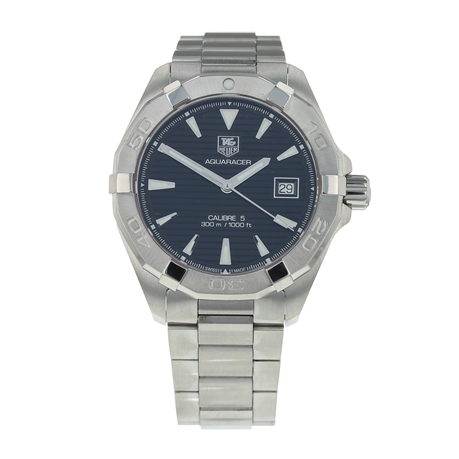 Pre-Owned TAG Heuer Aquaracer Calibre 5 Mens Watch WAY2110-0