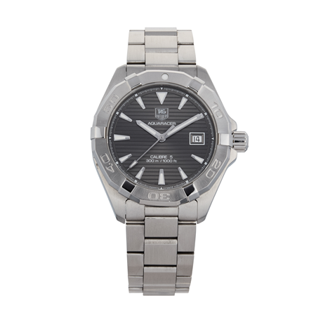 Pre-Owned TAG Heuer Aquaracer Calibre 5 Mens Watch WAY2113-0
