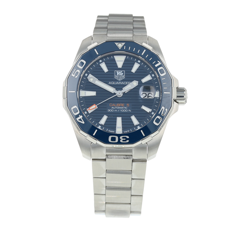 Pre-Owned TAG Heuer Aquaracer Calibre 5 Mens Watch WAY211C