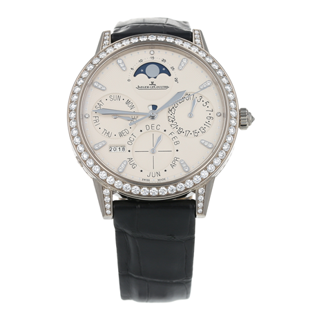 Pre-Owned Jaeger-LeCoultre Rendez-Vous Perpetual Calendar Ladies Watch Q3493420/342.3.21.S