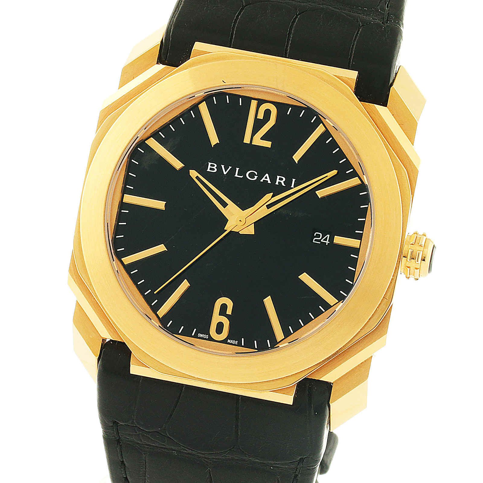 Pre-Owned Bulgari Octo Solotempo Mens Watch