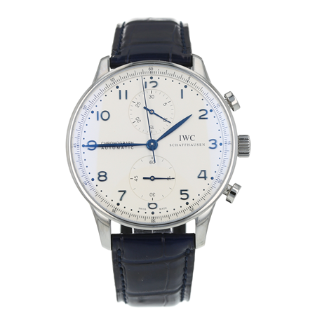 Pre-Owned IWC Portugieser Chronograph Mens Watch IW371446