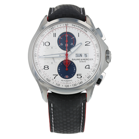 Pre-Owned Baume & Mercier Clifton Club Shelby Cobra Limited Edition Mens Watch M0A10342