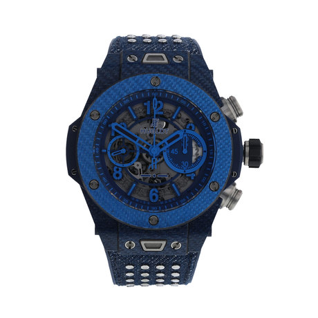 Pre-Owned Hublot Big Bang UNICO Italia Limited Edition Men's Watch