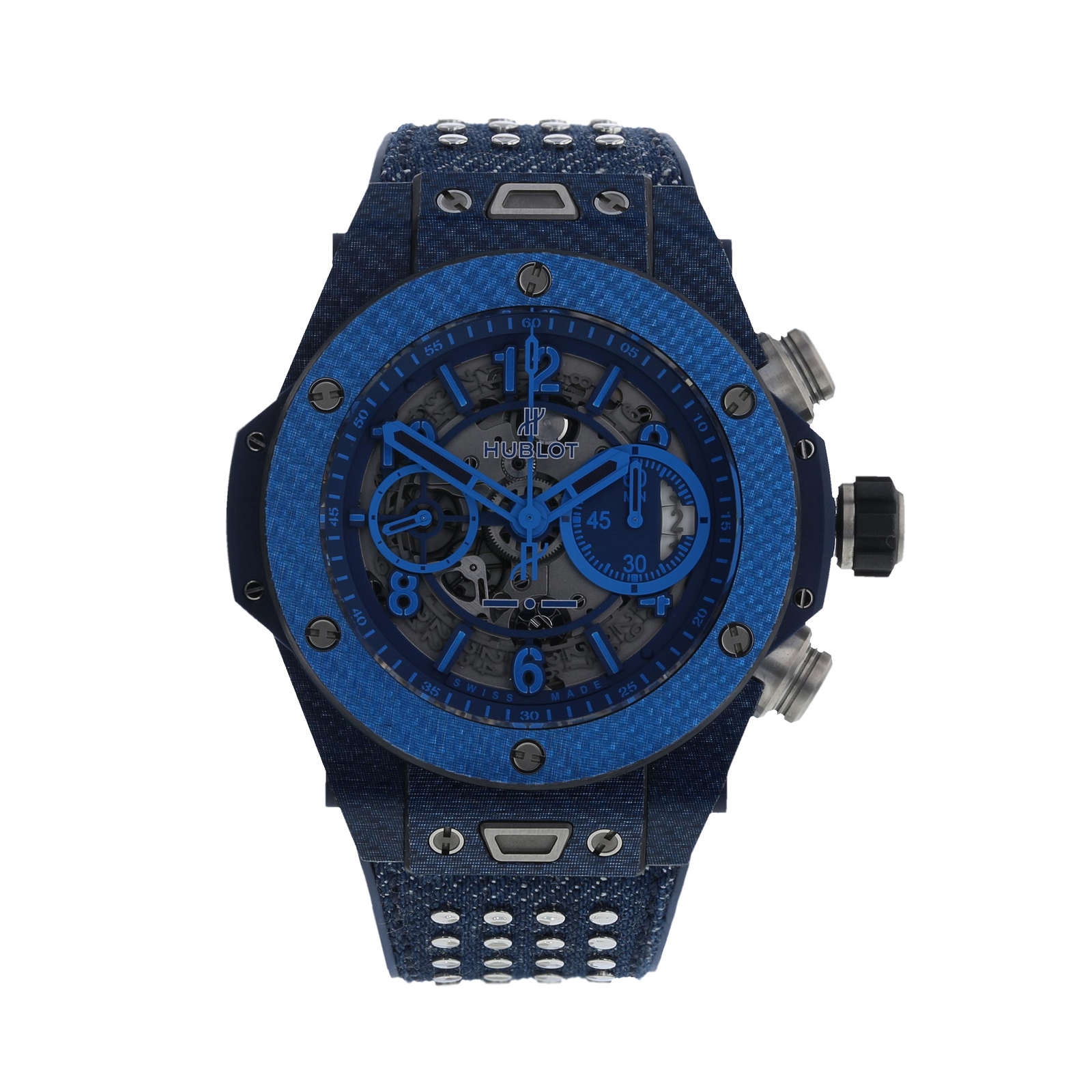 Pre-Owned Hublot Big Bang UNICO Italia Limited Edition Mens Watch
