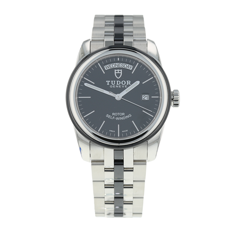 Pre-Owned Tudor Glamour Day-Date Mens Watch 56010N