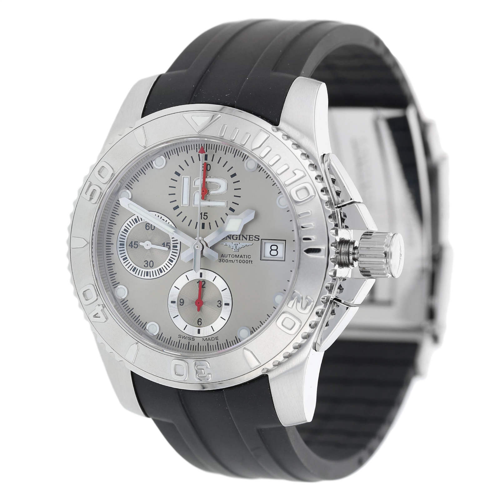 Pre-Owned Longines HydroConquest Mens Watch