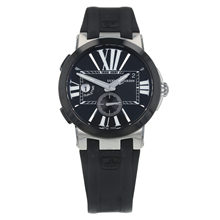 Pre-Owned Ulysse Nardin Executive Dual Time Mens Watch 243-00/42