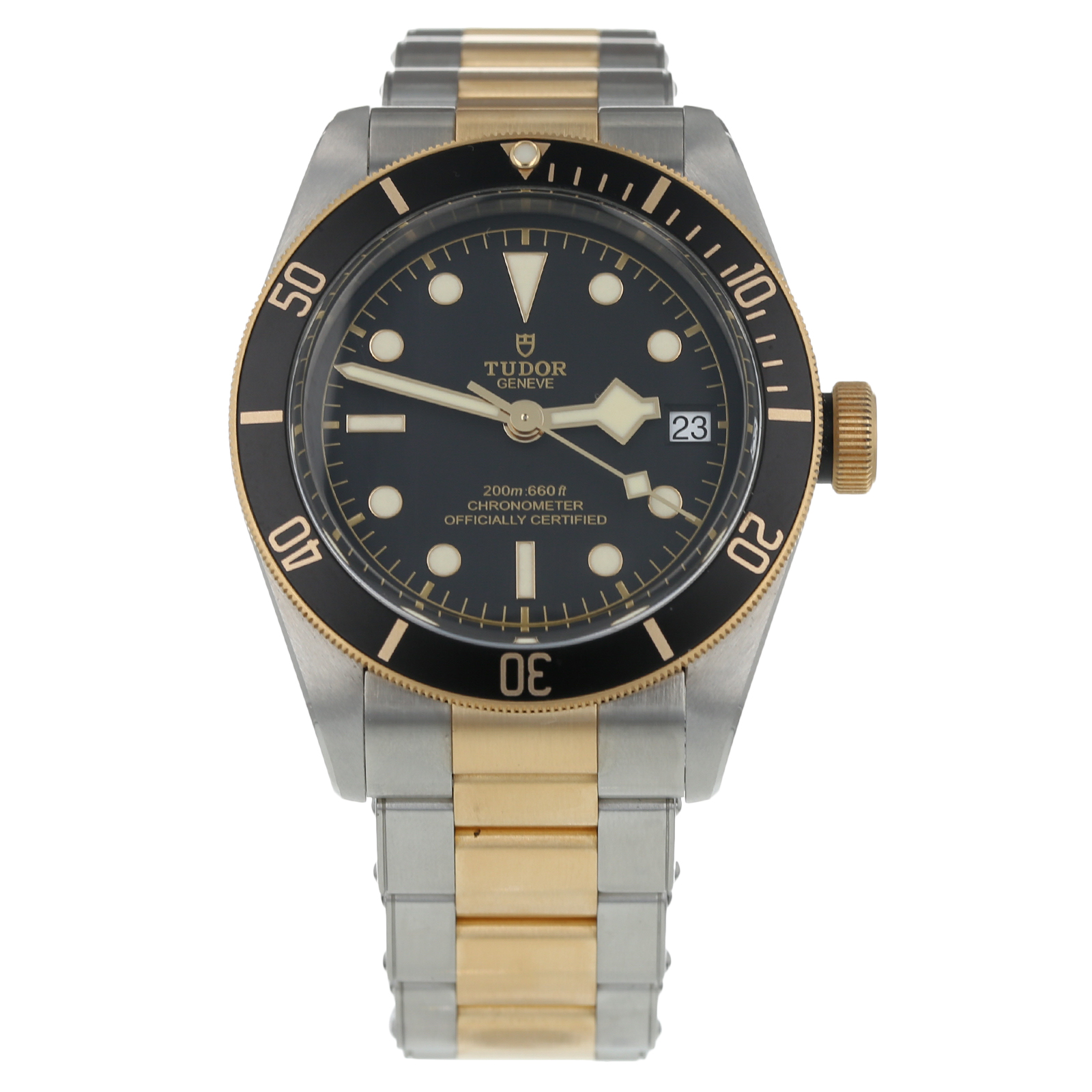 Pre-Owned Tudor Black Bay S&G Mens Watch 79733