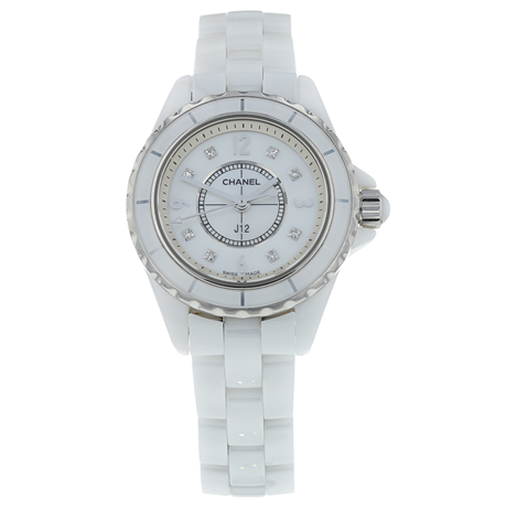 Pre-Owned Chanel J12 Ladies Watch H2422