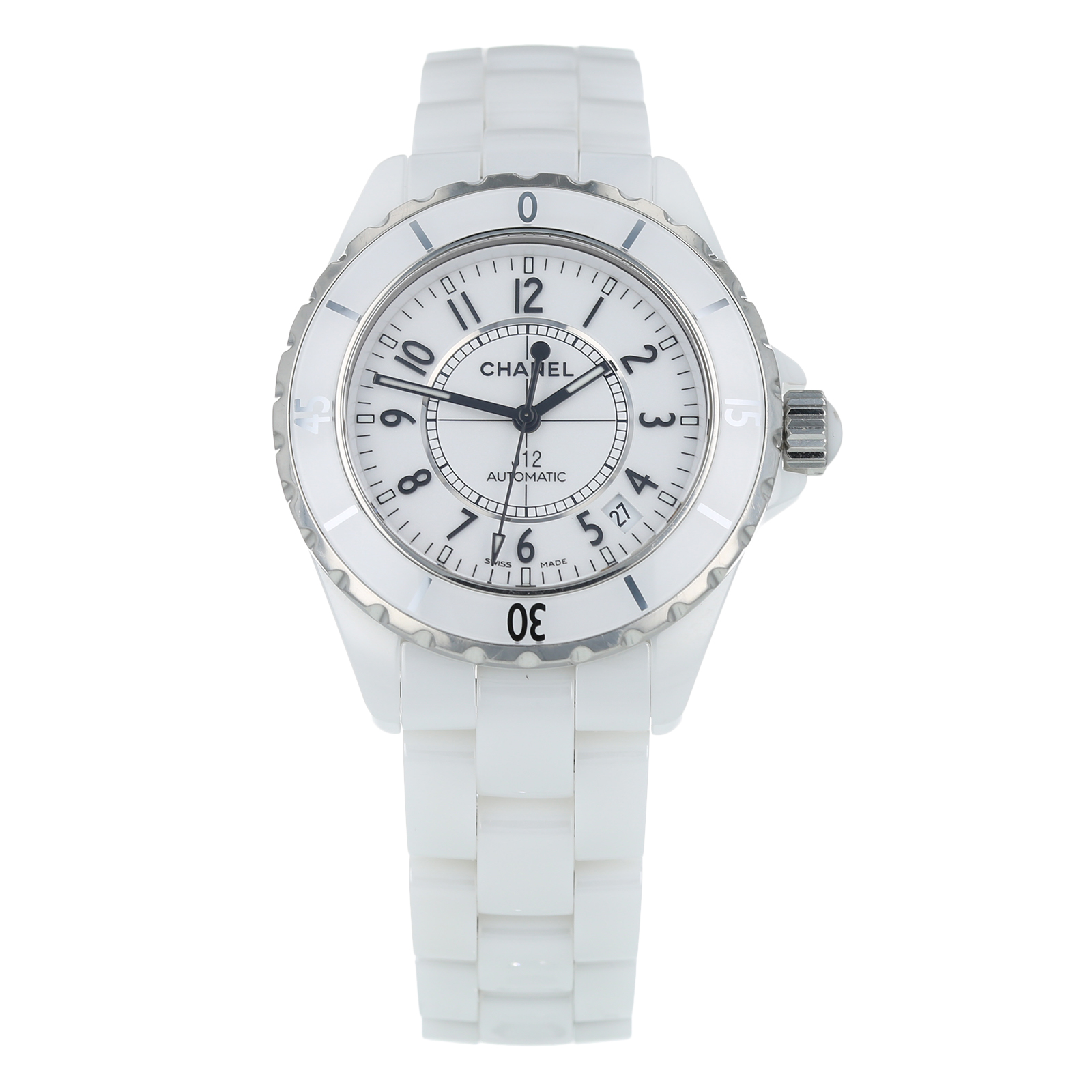 Pre-Owned Chanel J12 Unisex Watch H0970