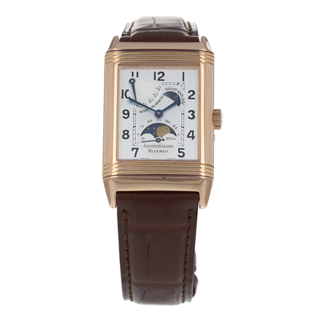Pre-Owned Jaeger-LeCoultre Reverso Sun Moon Mens Watch 270.2.63