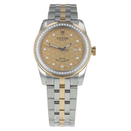 Pre-Owned Tudor Glamour Date Ladies Watch 53023