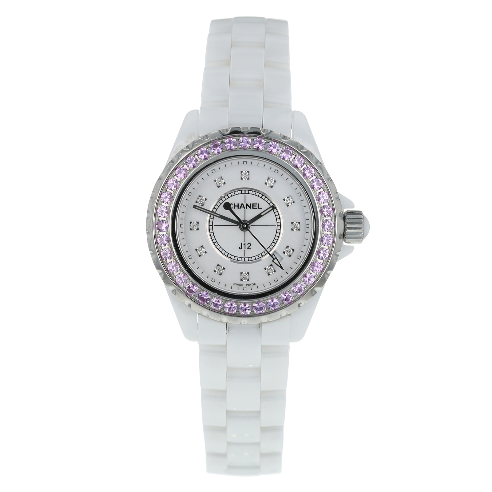 Pre-Owned Chanel J12 Ladies Watch H2010