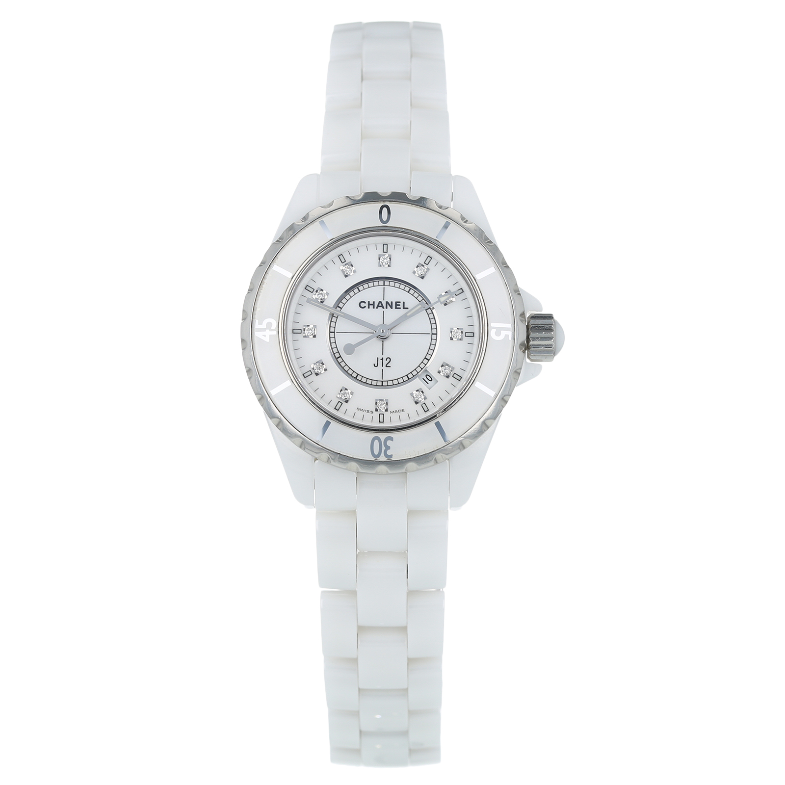 Pre-Owned Chanel J12 Ladies Watch H1628