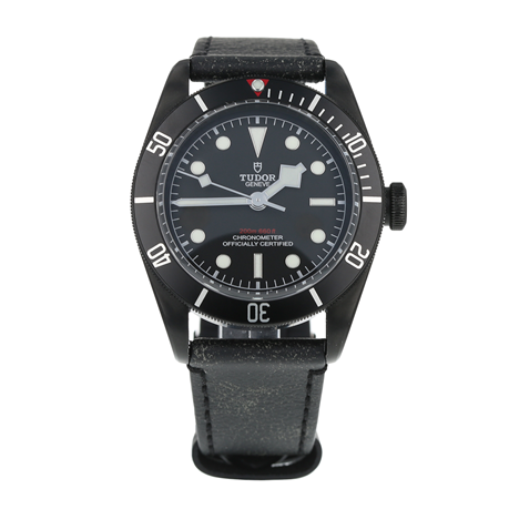 Pre-Owned Tudor Black Bay Dark Mens Watch 79230DK
