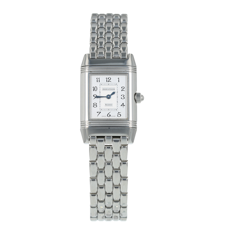 Pre-Owned Jaeger-LeCoultre Reverso Duetto Ladies Watch 266.8.44
