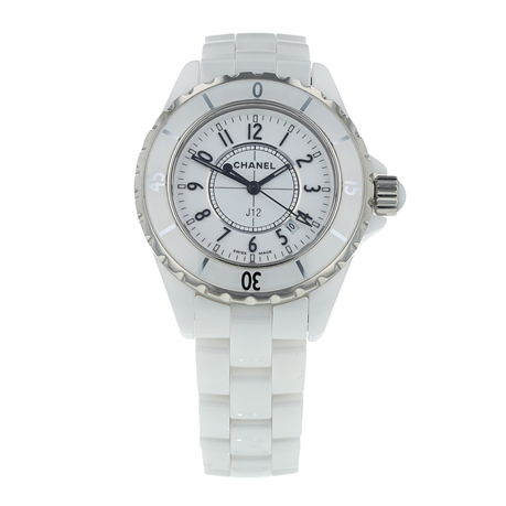 Pre-Owned Chanel J12 Ladies Watch H0968