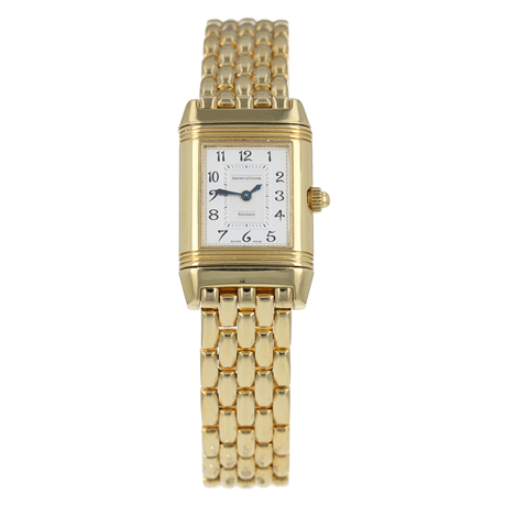 Pre-Owned Jaeger-LeCoultre Reverso Duetto Ladies Watch Q2661120/ 266.1.44