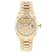 Pre-Owned Rolex Yellow Gold Day-Date Men's Watch