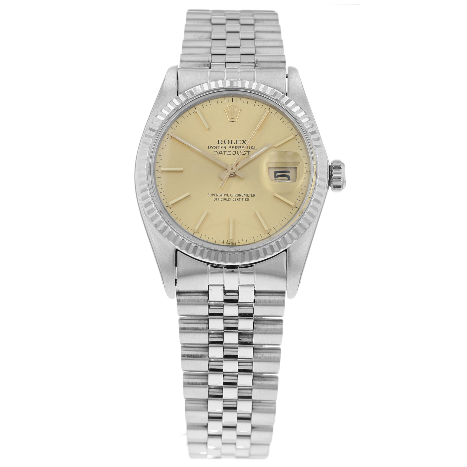 Pre-Owned Rolex Datejust Mens Watch 16014