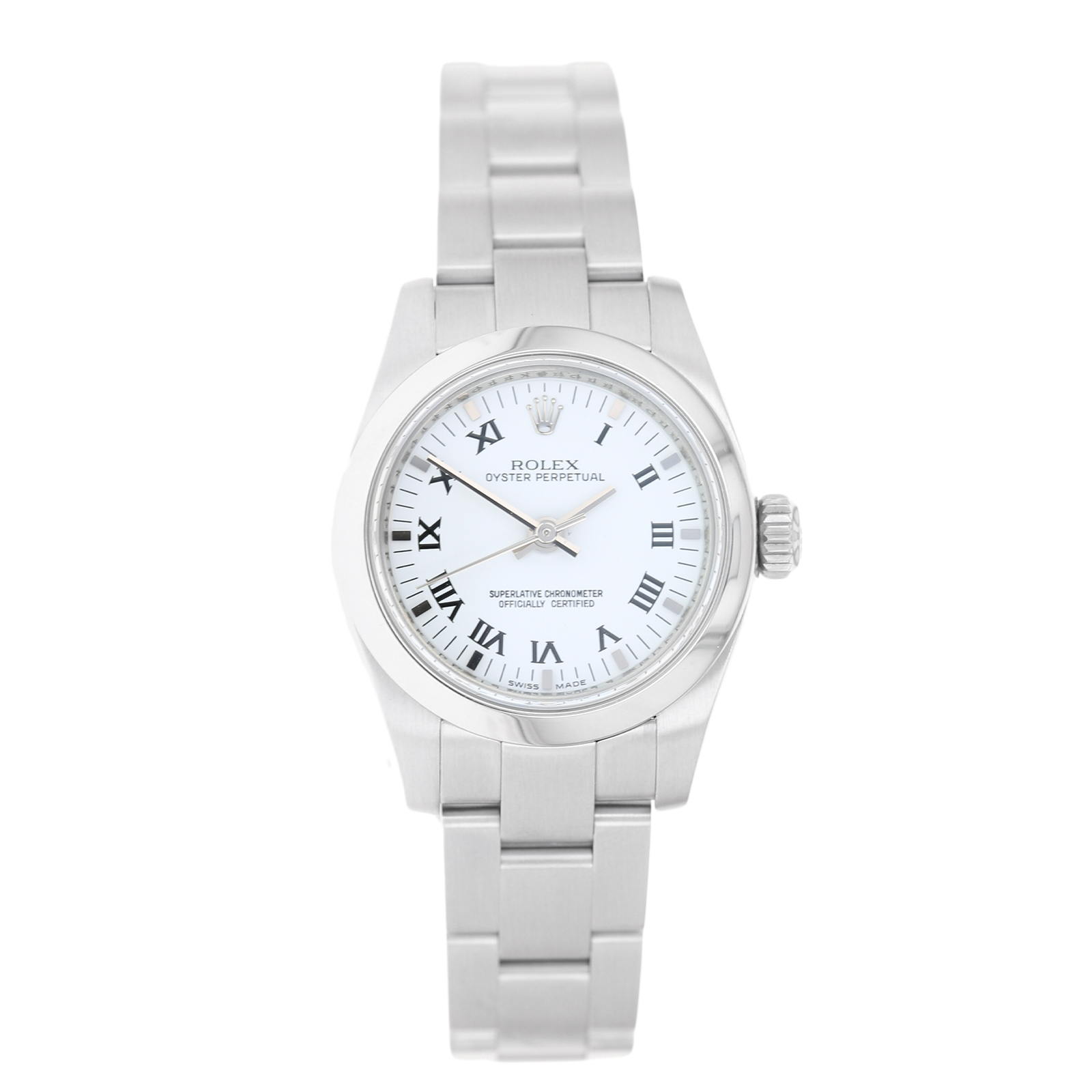 aef69f0a3bb Pre-Owned Rolex Oyster Perpetual 26 Ladies Watch 176200 | Pre Owned Watches  | Watches of Switzerland