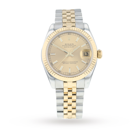 Pre-Owned Rolex Datejust 31 Ladies Watch 178273