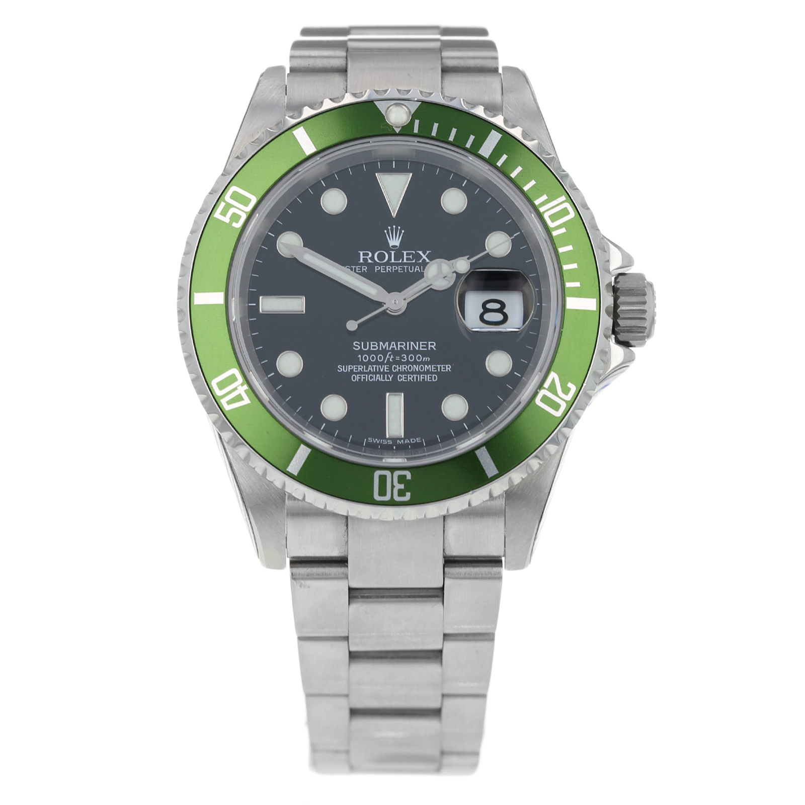 Pre-Owned Rolex Submariner Mens Watch 16610LV