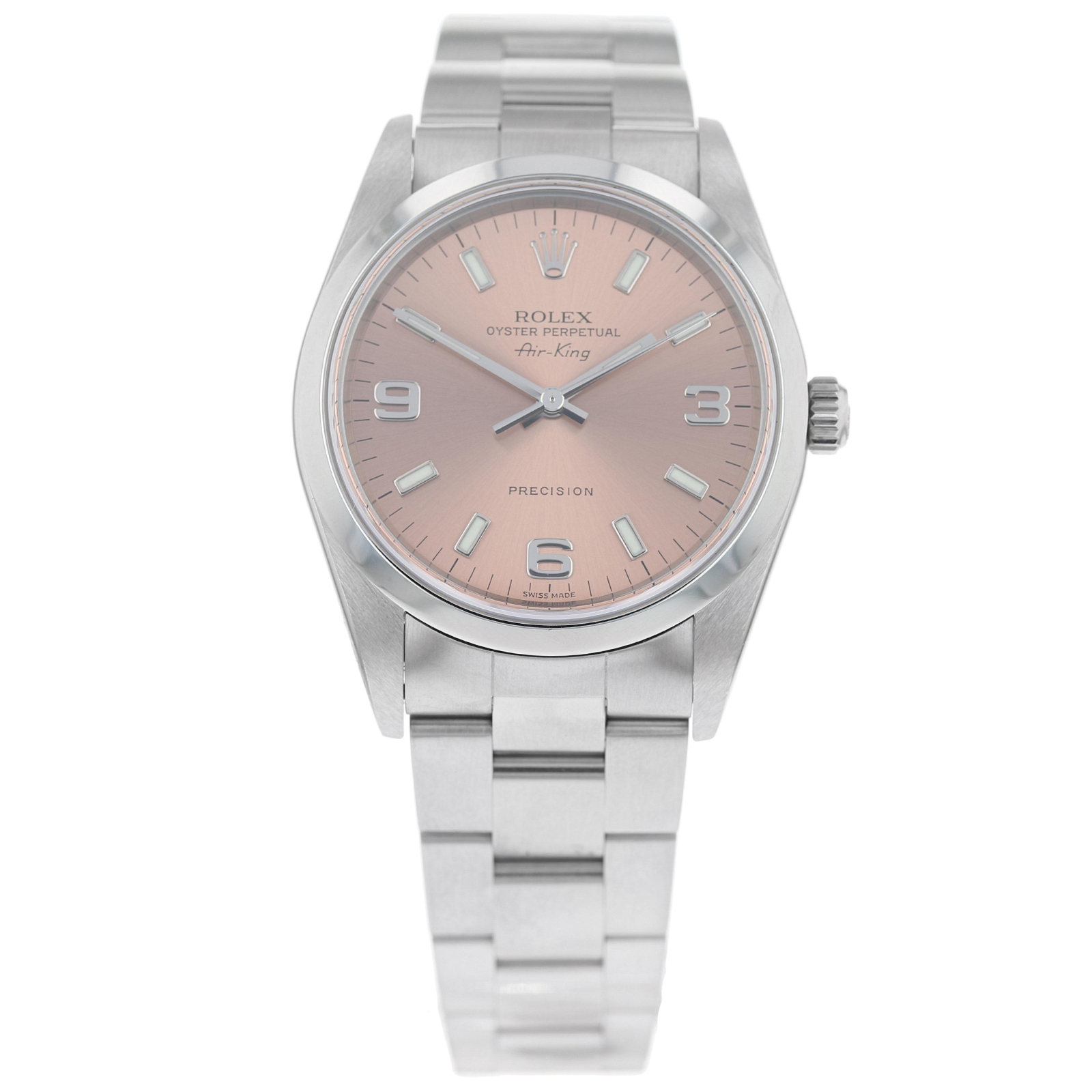 Pre-Owned Rolex Air-King Ladies Watch 14000M