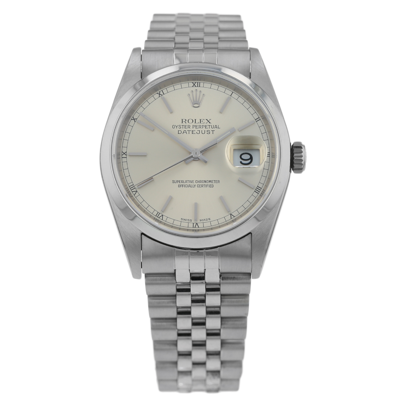 a49a7767754 Pre-Owned Rolex Datejust Mens Watch 16200 | Pre Owned Watches | Mappin &  Webb