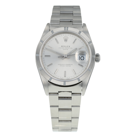 Pre-Owned Rolex Oyster Perpetual Date Mens Watch 15210
