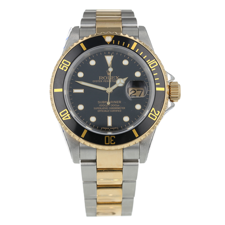 Pre-Owned Rolex Submariner Mens Watch 16613LN