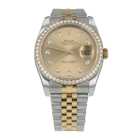 Pre-Owned Rolex Datejust Mens Watch 116243