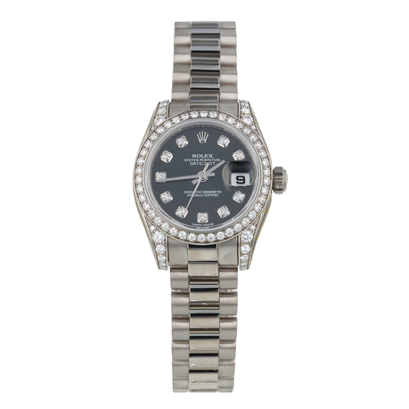 Pre-Owned Rolex Datejust Ladies Watch 179159
