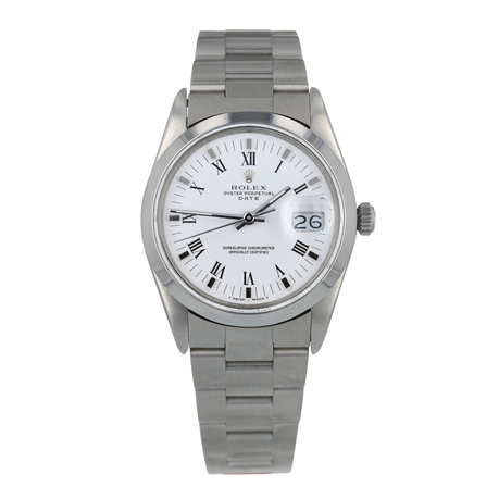 Pre-Owned Rolex Oyster Date Mens Watch 15000