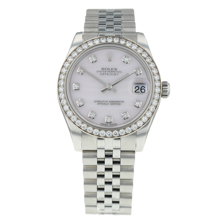 Pre-Owned Rolex Datejust Ladies Watch 178384