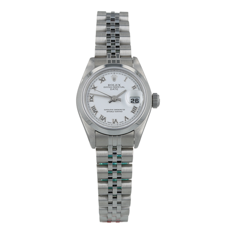 Pre-Owned Rolex Oyster Perpetual Date Ladies Watch 79160