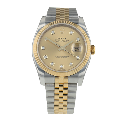 Pre-Owned Rolex Datejust Mens Watch 116233