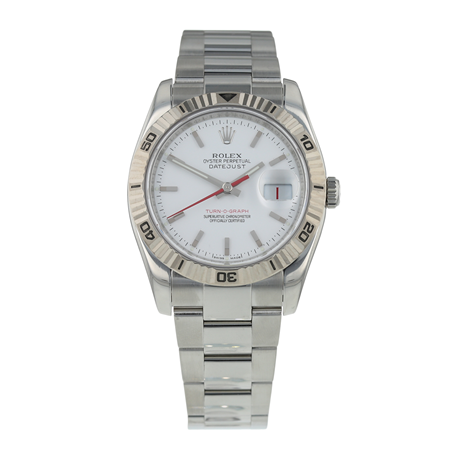 Pre-Owned Rolex Datejust Turn-O-Graph Mens Watch 116264