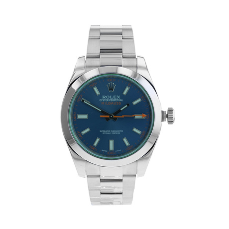Pre-Owned Rolex Milgauss Mens Watch