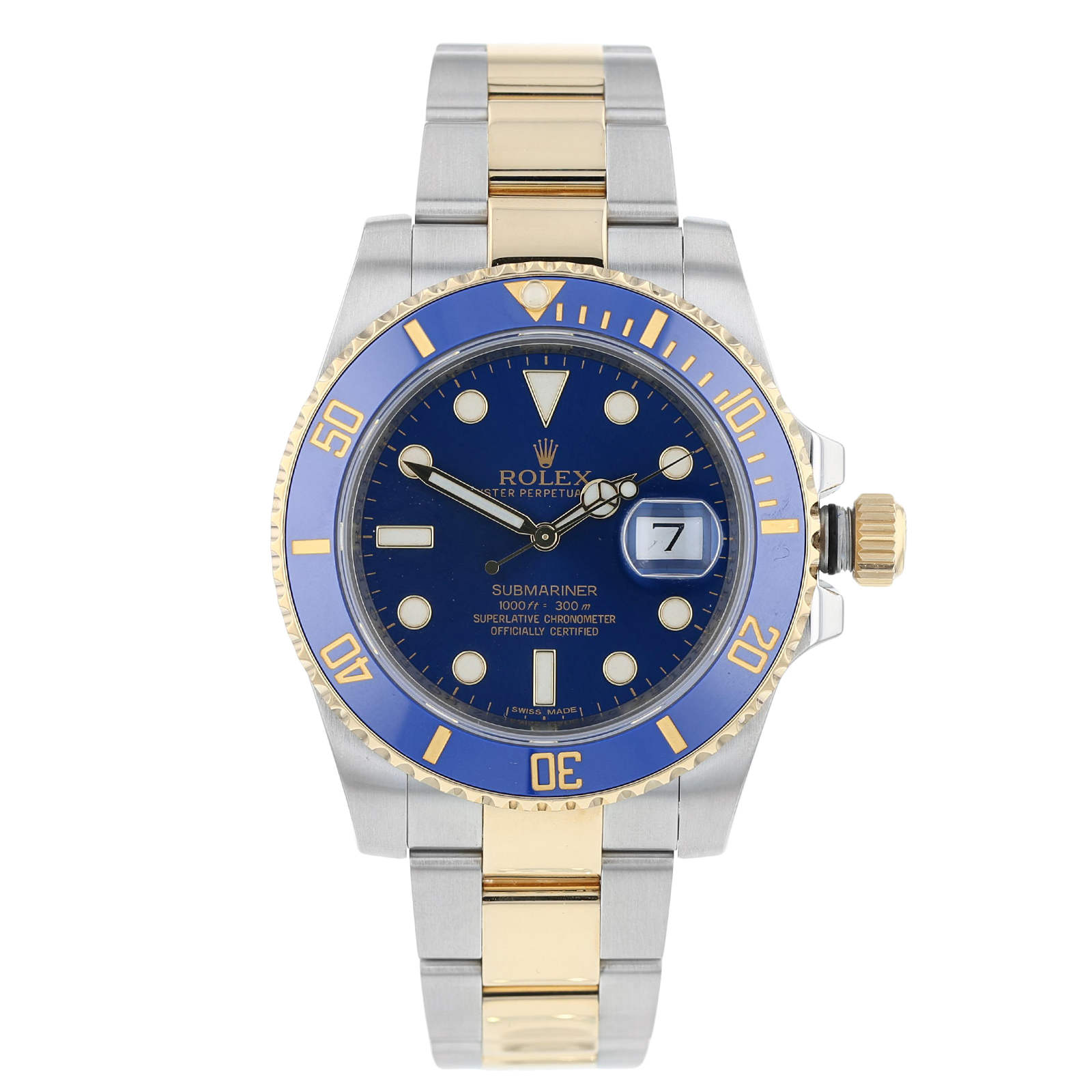 Pre-Owned Rolex Submariner Mens Watch